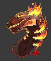 [FlightRising] - Burning Passion of our Mother by Linkaton