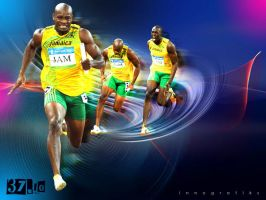 The Fastest Men in the World by innografiks