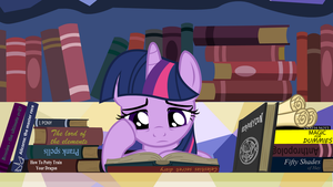 What could she be reading? by Tobbby92