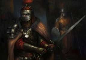 Baldur's Gate: Soldiers of Amn by IgorLevchenko