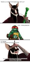 Raphael - Part of That World PART 1 by TurboTails06