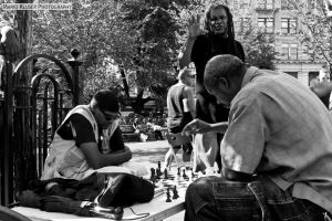 Chess At Union Square by mariokluser