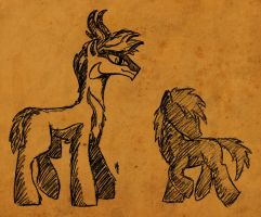 WTWE Races: Pronghorn by QuirkyWallace