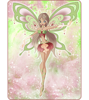 Sylena Enchantix Card by Aryl-Phoenix
