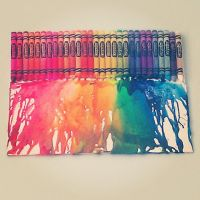 Melted Crayons by Lauren112597