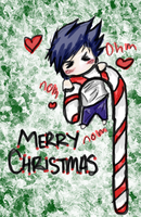 Merry Christmas from L by Sabaku-Chick
