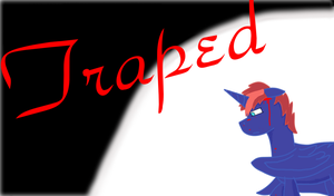 Trapped comic cover by swiffer-the-alicorn