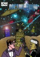 Doctor Who/Red Dwarf Comic Book 2 by mikedaws