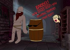Why the Barrels Betrayed PewDiePie by Irken-Invader-Rina