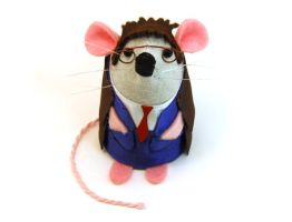 Dr Who Mouse by The-House-of-Mouse