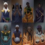 Elven Pantheon by RoseTheHobbit