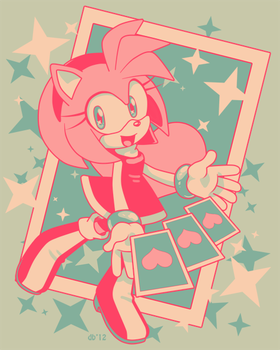 One Hour Sonic- Amy by CatbeeCache
