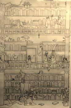 My library by EmmaMcAuslin666