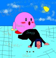 Kirby helping snape with soap. by Hero-Potter