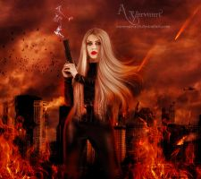 The warwoman by annemaria48