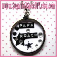 Papa Roach SUGAR POT Necklace by SugarAndSpiceDIY