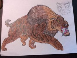 The Beast of the Ice Age. by Dinomaster337