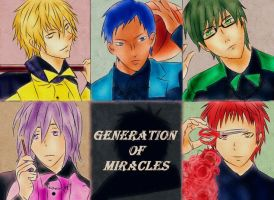 the Generation of Miracles... by Xin-W