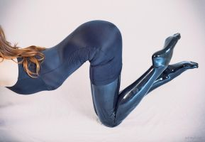 Ally in Latex Stockings by PascalsProxy