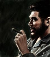 Digital Painting- Portrait of Che by paulnery