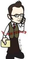 Mr. Finch - Person of Interest by toonseries