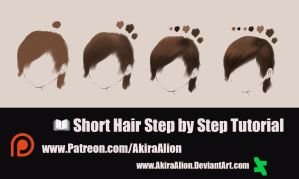 Hair Tutorial by AkiraAlion