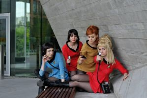 Women of Starfleet by Emmaliene