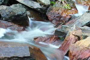 Flowing Stream by everythingerika