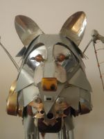 Metal Wolf by Ahness