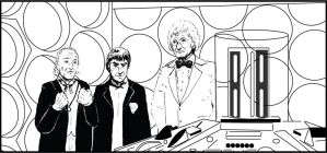 3 Doctors in the TARDIS by DaveB23