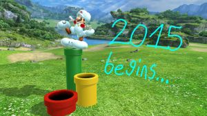 The new year begins... by rabbidlover01
