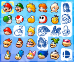 My Ideal Mario Kart 8 Roster by JamesmanTheRegenold