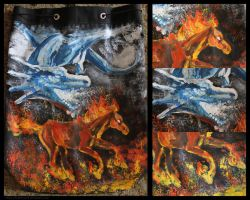 Ice and fire by HeatherWolf