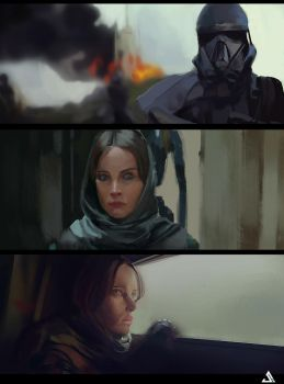 Rogue One Study by Jun-OH