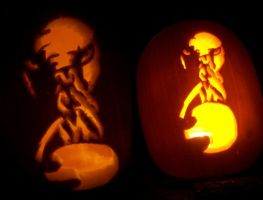 A very OOD pumpkin.... by wolfstare5