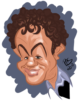 John C Reilly for Caricaturama Showdowan entry by pedro-amaral-couto