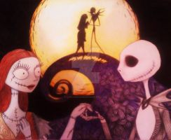 Jack and Sally by cayligraham