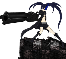 Black Rock Shooter by lewis543