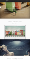 Fable WP Blog Theme by wpthemes