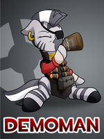 Pony Fortress 2: Demoman by 10art1