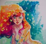 Poison Ivy close up by jFury