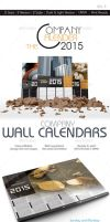 The Company Calenders 2015 by VicassoD