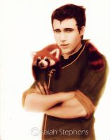 Bolin and Pabu by IsaiahStephens