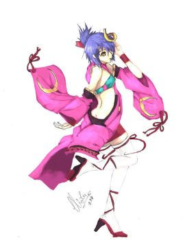 Luca from Ar Tonelico 2-CG ver by duo-mind