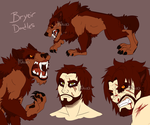 Bryeir Doodles by Mikaces