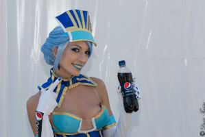 Blue Rose Tiger and Bunny pepsi spot by valentinachan