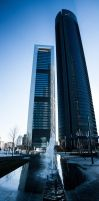 Cuatro Torres Business Area by esperanzamarchita