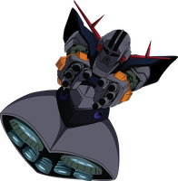 MSN-02 Zeong by DisAstranagant