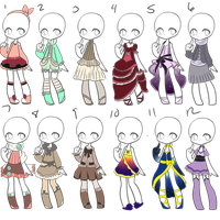 Outfit Adopts 32 *Closed* by Canaddicted