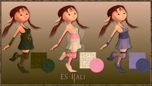 ES Kali, textures for the dres by Shine70